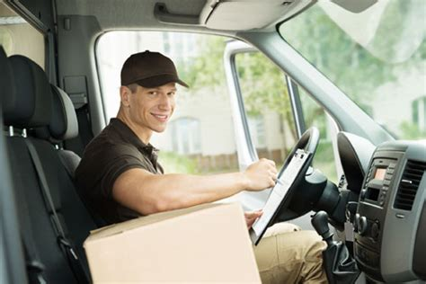 light truck or delivery service driver career careertoolkit