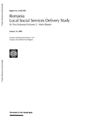 social services section 7 report romania local social services delivery study volume 2