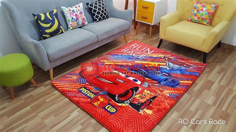 Karpet Karakter Cars Merah karpet karakter selimut bulu lembut kartun bunga