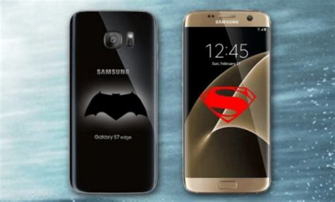 Superman Vs Batman Y0196 Samsung Galaxy S7 Flat Custom rumor samsung to release batman v superman edition of