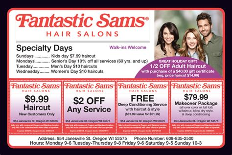 haircut coupons in phoenix fantastic sams coupons chandler az cyber monday deals on