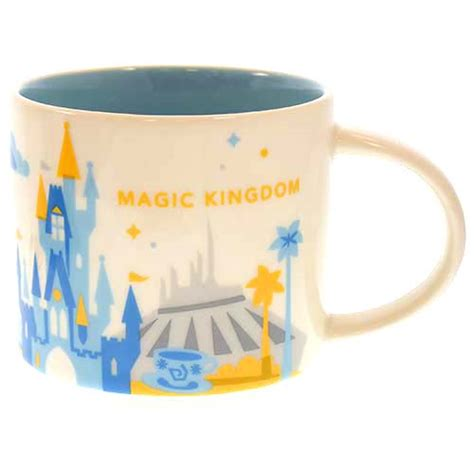 new magic kingdom starbucks quot your wdw store disney coffee cup mug starbucks you are