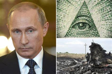 putin illuminati malaysia airlines plane crash conspiracy theories
