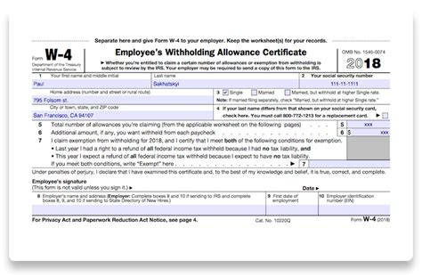 How to fill out 2018 IRS Form W-4 | PDF Expert W 4 Form 2015 Printable Spanish Irs
