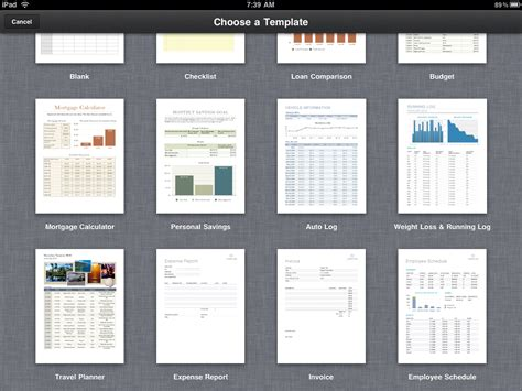 spreadsheets on the go with numbers for ipad pcworld