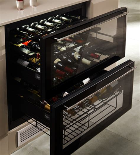 Drawer Cooler by The Innovative Norcool Cave 55 Wine Cooler