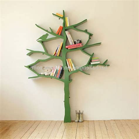 Plans For Bookcases Tree Shaped Bookshelves American Hwy