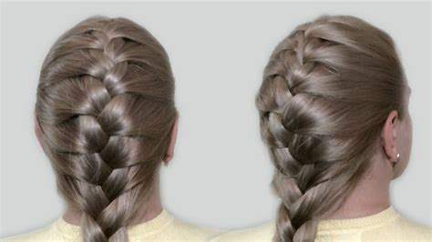 easy plaits to do yourself french plait hairstyles long hair hair