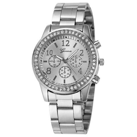 Jam Tangan Wanita Geneva Analog Rubber Free Baterai 3 geneva jam tangan analog yq004 silver jakartanotebook