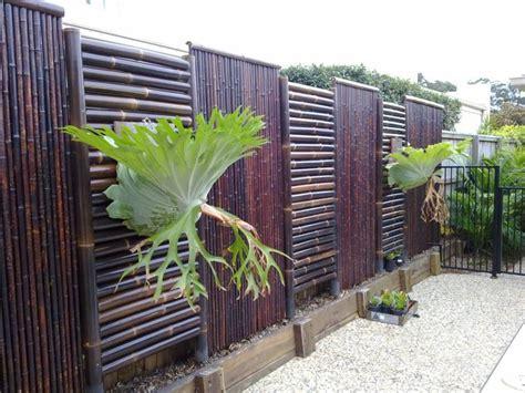 Deco Bambou Jardin by Cl 244 Ture En Bambou Pour Une Touche Orientale Dans Le Jardin