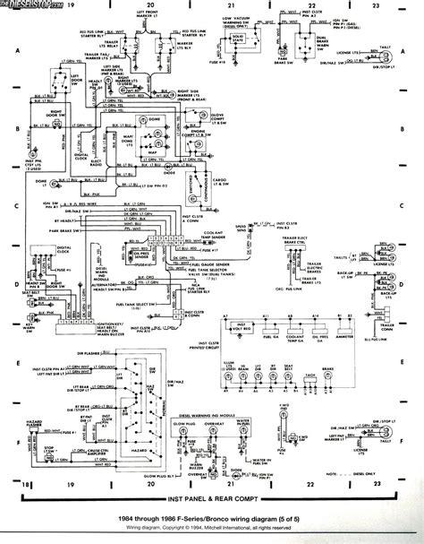 1985 f150 tachometer wiring diagram wiring diagrams
