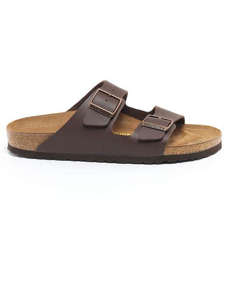 birkenstock designer sandals birkenstock arizona brown suede sandals in brown for