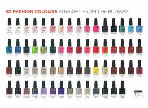 cnd vinylux color chart esther s nail corner