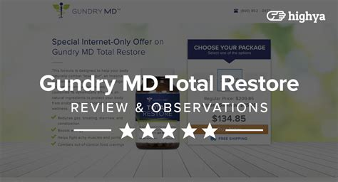Review Total by Gundry Md Total Restore Reviews Is It A Scam Or Legit