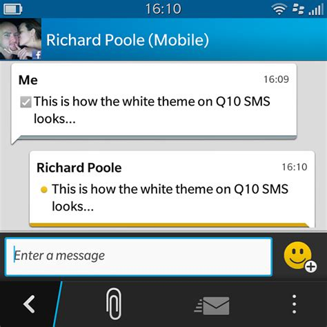 crackberry q10 themes q10 white theme sms blackberry forums at crackberry com