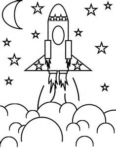 rocket coloring pages 25 best ideas about rocket ship craft on
