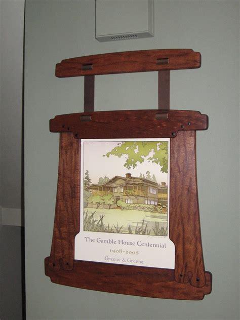 greene greene style frame finewoodworking