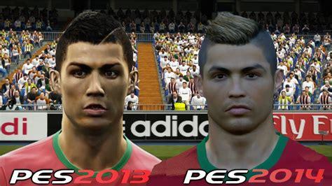 pes 2013 hairstyle pes 2013 v pes 2014 faces comparison hd part 1 dscide