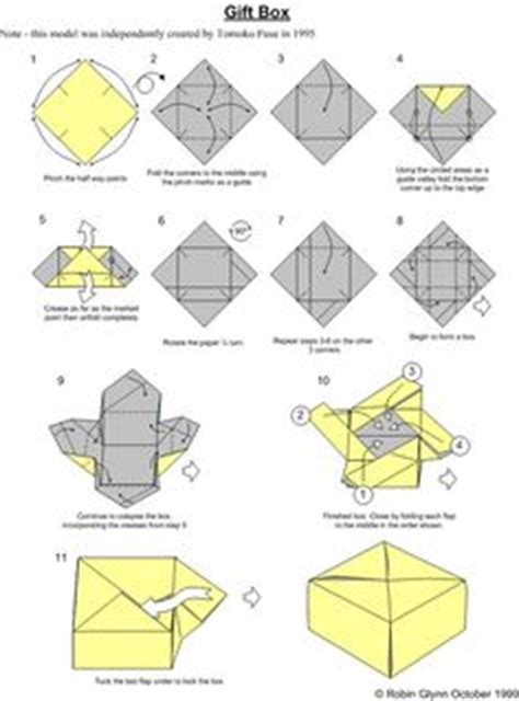 Easy Origami Gift Box - how to fold a divider for an origami box origami boxes