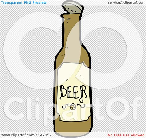 cartoon beer no background cartoon of a beer bottle royalty free vector clipart by