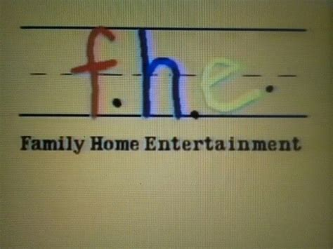 family home entertainment fhe logo back in my day