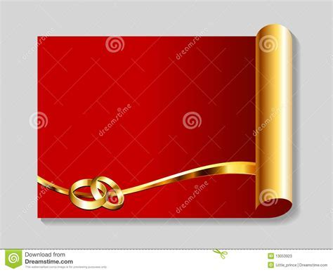 Gold And Red Wedding Abstract Background Stock Photos