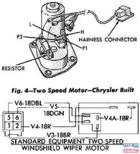 help with 2 speed wiper motor wiring in electrical
