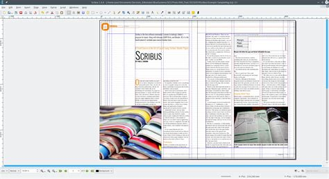scribus templates the of layout according to scribus i master pages