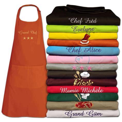 cuisine personnalis馥 joli cadeau id 233 e cadeau naissance tablier de cuisine