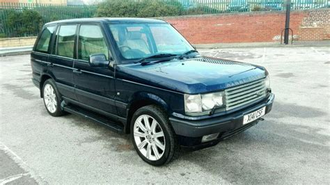2000 land rover mpg 2000 range rover p38 4 6 vogue auto met blue long mot full