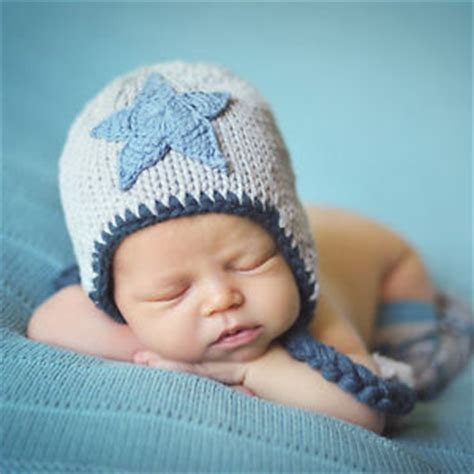 Handmade Beanies For Babies - melondipity twinkle baby boy hat handmade