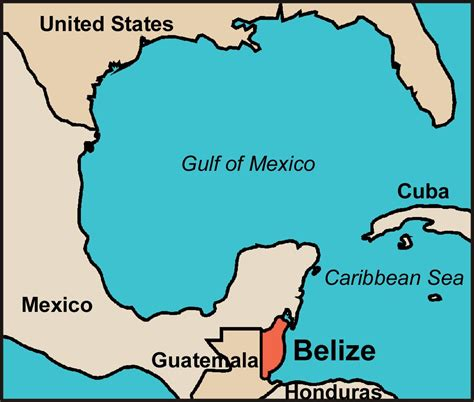 map of mexico and belize where is belize here s a free map of this caribbean paradise