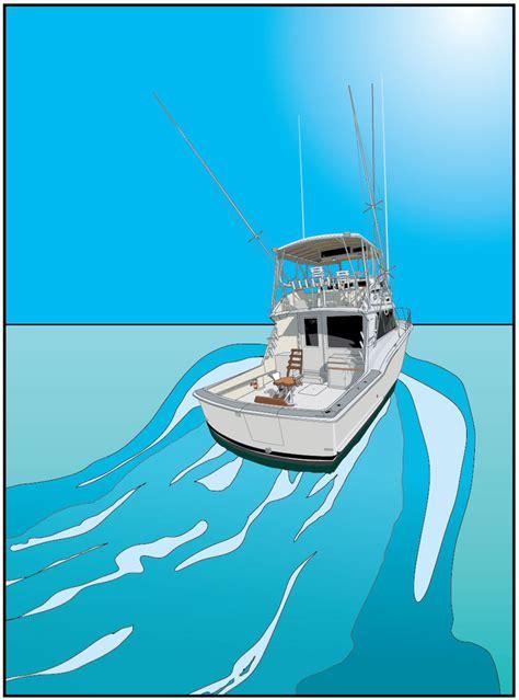 sport fishing boat art sport fishing boat by lucky8design on deviantart