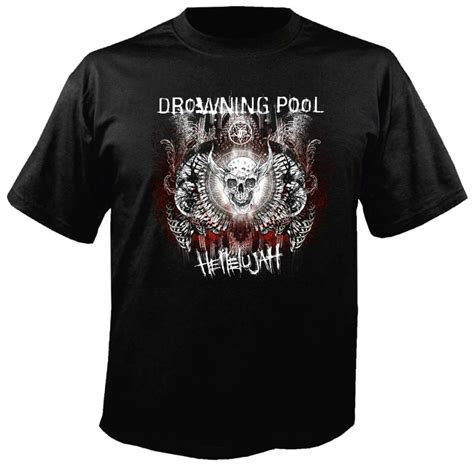 Gojira Black T Shirt Metal Band Fan Shirt Lenfant Size L drowning pool band t shirt metal rock t shirts and accessories