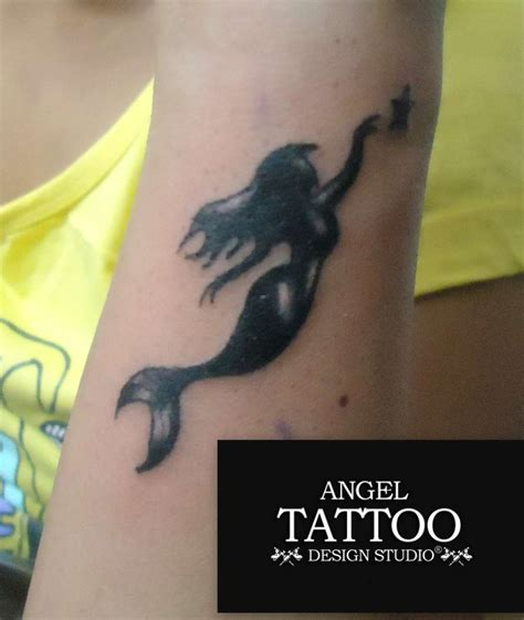 small mermaid tattoos small designs best small design ideas for