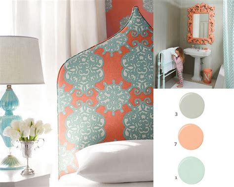 coral bedroom color schemes coral and grey color schemes home pinterest