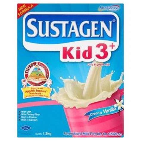 Sustagen Kid 3 3 6 Tahun vitamin penambah nafsu makan anak usia 1 tahun keatas best vitamin 2017