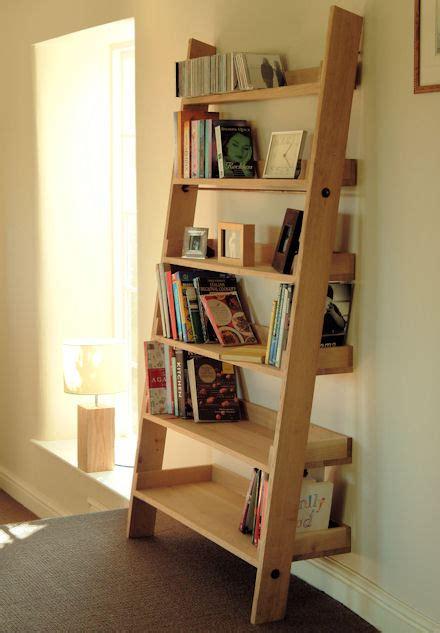 store large oak ladder shelf