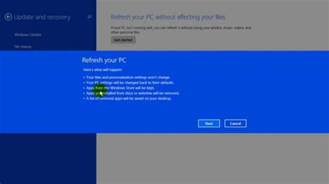 factory reset laptop windows 8 how to reset your pc to factory settings windows 8 1