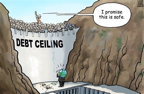 debt ceiling political cartoons ea o ka aina trump s debt crisis nears
