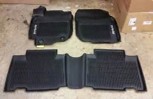 2013 2014 2015 2016 2017 rav4 floor mat liners rubber all weather toyota oem ebay