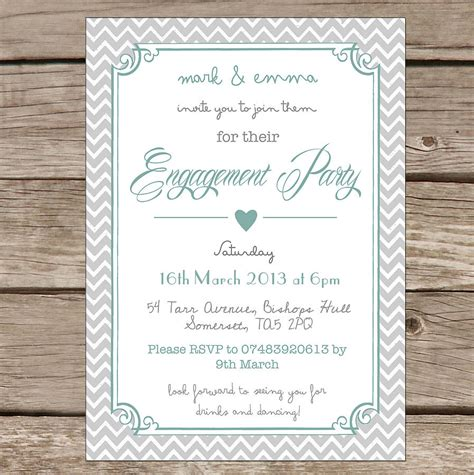 engagement invitations : Engagement party invitation