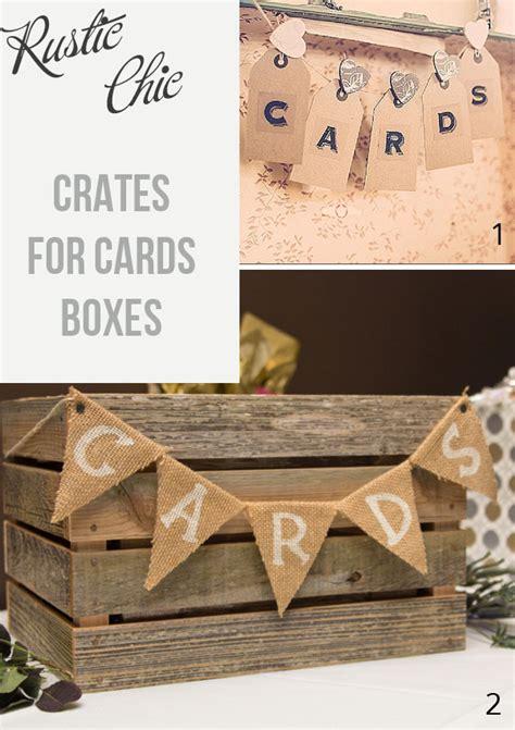 Wooden Wedding Gift Card Box - wooden crates at weddings the wedding of my dreamsthe wedding of my dreams
