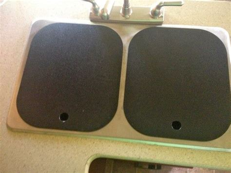 Rv Kitchen Sink Covers by Rv Sink Covers Sink Covers In Black Rv Interior Design
