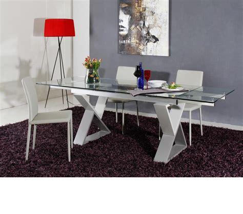 Dining Table Frame Steel Dreamfurniture 2361xt Modern Grey Metal Frame