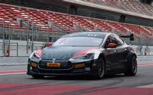Gt Racing Tesla Model S Gt Race Car The Awesomer
