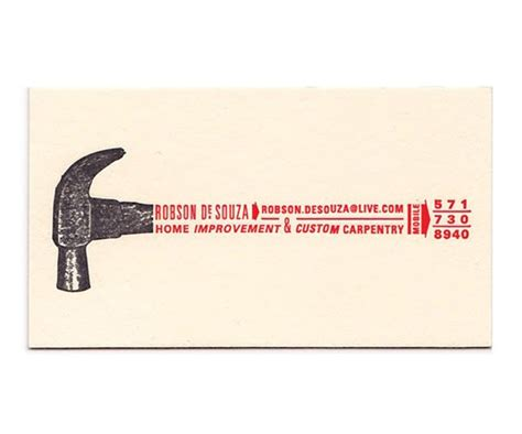 chica design this concept for a handyman business card