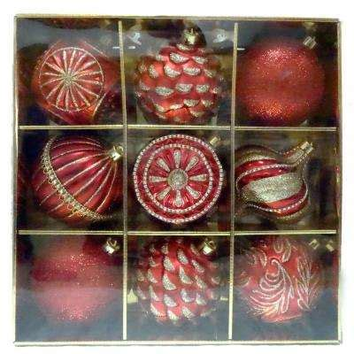 Shatter Proof Home Windows Decor Shatter Proof Ornaments Ornaments Tree Decorations The Home Depot