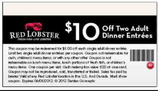 2015 red lobster coupons buy one get one free deals red lobster coupons 2015 2