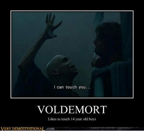 Can I Touch It Meme - i can touch you voldemort likes to touch 14 year old boys very demotivationalcom meme on me me